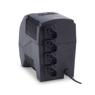 ESTABILIZADOR ETERNITY  MONOVOLT 300VA PRETO FORCELINE