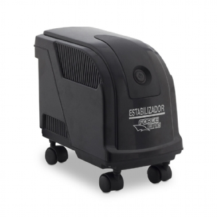ESTABILIZADOR EVOLUTION III - MONOVOLT 1000W PRETO FORCELINE