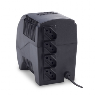 ESTABILIZADOR ETERNITY - MONO 600VA  115V PRETO FORCELINE