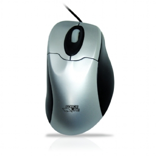 MOUSE OPTICO C/ SCROLL PS2 ANATÔMICO FORCELINE